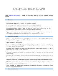 Manual Testing Experience Resume Sample by Download Certified Automation Engineer Sample Resume