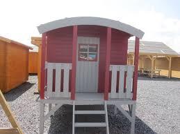 Haus Kaufen Gebraucht Kinderhaus Tobi Runddach Bauwagen Zirkuswagen Gartenhaus