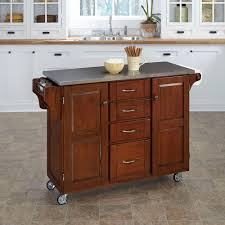 cherry kitchen island cart home styles cuisine cart kitchen cart with cherry top 9001