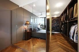 Mirrored Closet Doors Closet Doors Will Make The Bedroom Look Bigger