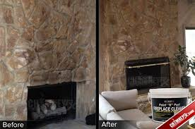 Clean Fireplace Stone by Chimney Rx Paint N Peel Fireplace Cleaner Chimney Rx