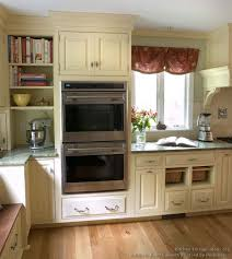 traditional two tone kitchen cabinets crown point cabinetry
