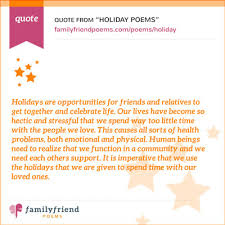 poems poems about holidays