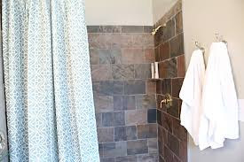 Dressed To Thrill Shower Curtain Office Bathroom Reveal Bower Power
