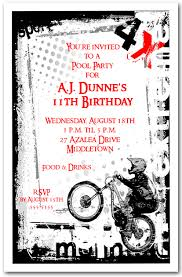 grunge sports mountain biking invitation mountain biking birthday