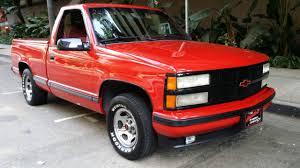 chevrolet c k pickup 1500 standard cab pickup 1991 red for sale