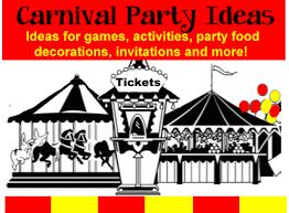 Birthday Decoration Ideas For Boy Carnival Birthday Theme Birthday Party Ideas For Kids