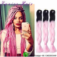 ombre crochet hairstyles box braids hairstyle kanekalon two tone jumbo braids xpression