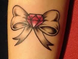 bow tattoos back tattoomagz