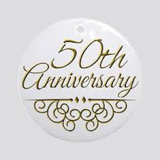 50th anniversary ornaments 50th wedding anniversary ornaments cafepress