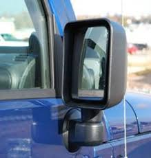 jeep wrangler blind spot mirror 2014 jeep wrangler unlimited replacement mirrors etrailer com