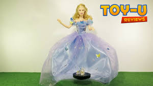 disney cinderella royal ball doll cinderella toy review unboxing