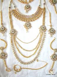 pearl setting necklace images Buy gold plated pearl kundan bridal dulhan necklace earring set online jpg