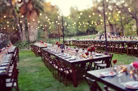 rustic backyard wedding reception ideas backyard wedding a cup of jo