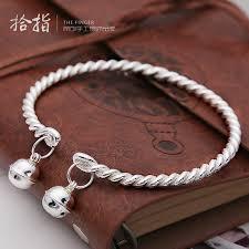 silver bracelet gift images Usd 107 50 silver anklet 999 sterling silver bracelet female jpg