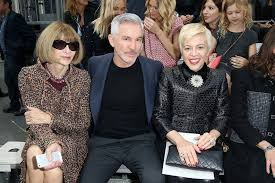 baz luhrmann and catherine martin celebrities with anna wintour
