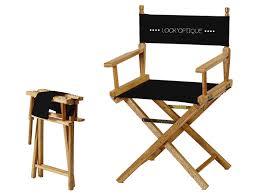 siege metteur en ᐅ fauteuil metteur en scène personnalisable noir asdirect fr