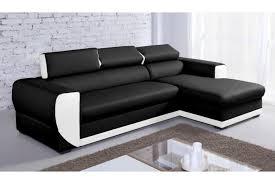 canapé angle convertible simili cuir canape simili cuir blanc pas cher maison design hosnya com