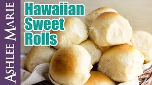 how to make hawaiian sweet rolls