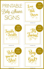 baby shower signs baby shower printable signs party printables