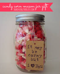 Homemade Valentine S Day Gifts For Him by Pucker Up Valentine Lemon Drop Valentine Mason Jar Gift