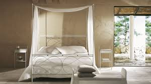silver polished queen bed with canopy and white curtain most seen pictures featured in tremendeous iron canopy beds for bedroom decorating