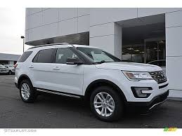 Ford Explorer Xlt - 2017 oxford white ford explorer xlt 117550500 gtcarlot com