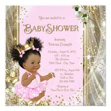 princess baby shower american princess baby shower invitations zazzle