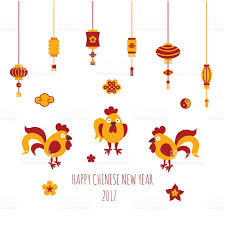 happy chinese new year vector card template stock vector art