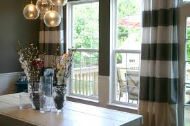 Dining Room Curtain Ideas Modern Dining Room Curtain Ideas Kiln Dried Wood Frame White