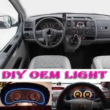 volkswagen multivan interior car atmosphere light flexible neon light el wire interior light
