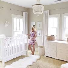 this sweet mama is all ready for baby loving this calm white