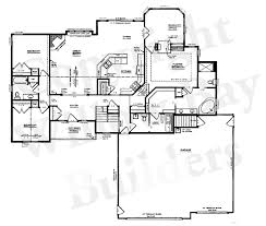 ranch house floor plans with basement clever design home floor plans with walkout bat small lake