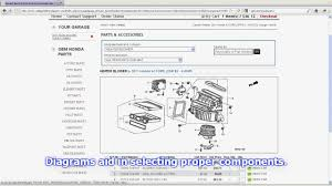 honda crv parts catalog demo of the honda parts catalog