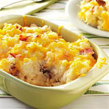 baked mashed potatoes recipe taste of home