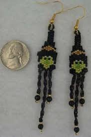 Halloween Jewelry Crafts - threadabead leggy witch earring funny pinterest witches