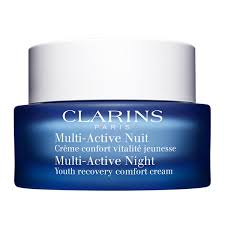 clarins women s and perfumery facial cosmetics usa online shop clarins multiactive night cream for normal to dry skin 50ml facial cosmetics women s and