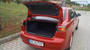 mitsubishi lancer how to open the trunk youtube