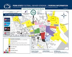 Map Of Penn State by Beaver Stadium Parking Map My Blog