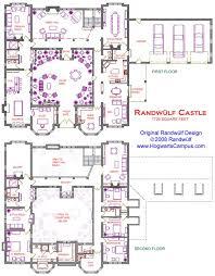 mansion floor plans castle 2 story castle with courtyard dream home pinterest castles