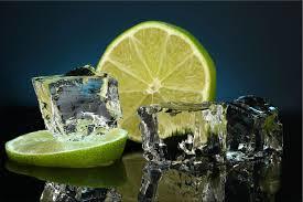 tableau en verre pour cuisine tableau citron et glaçon c0001 tableaux déco personnalisés