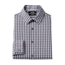 mens grey plaid dress shirts tops clothing kohl u0027s