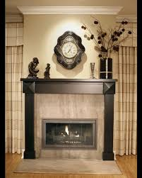 mantel fireplace mantel decor with garlit and lantern for home