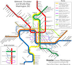 Seattle Link Rail Map The New Circulators And The Metro Map U2013 Greater Greater Washington