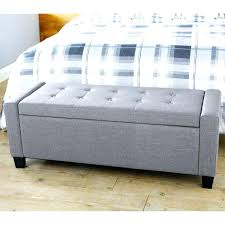 Padded Storage Bench Padded Bench With Storage Teescorner Info