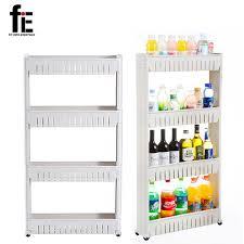 fie multipurpose shelf with removable wheels rack bathroom