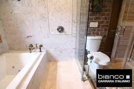 8 00sf carrara bianco polished 6x12 subway marble tile