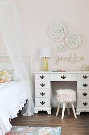Pink Gold Bedroom by Kids Basement Bedrooms The Flooring Cherished Bliss