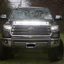 2015 jeep cherokee light bar 2014 2018 toyota tundra hood grille knight rider led light bar kit