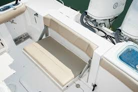 Rear Bench Seat For Boat Everglades 255cc Boat Test And Fish Trial